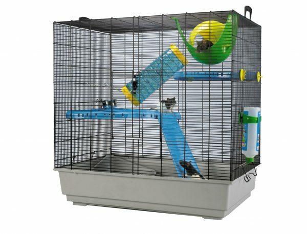 Kooi Freddy 2 Max rat  blauw/grijs  80x50x80cm