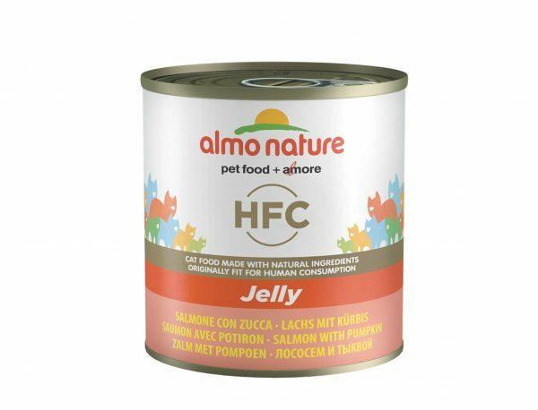 HFC Cats 280g Jelly - zalm en pompoen