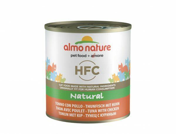 HFC Cats 280g Natural - tonijn en kip