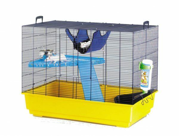 Kooi Freddy 2 rat blauw/geel 50x80x63cm L
