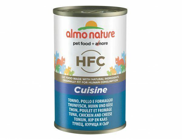 HFC Cats 140g Cuisine - tonijn, kip en kaas