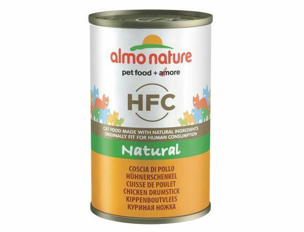 HFC Cats 140g Natural - kippenboutvlees