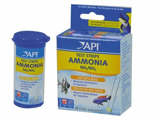 Ammonia test strips API