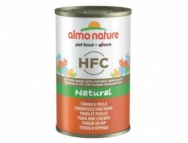 HFC Cats 140g Natural - tonijn en kip