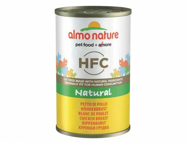 HFC Cats 140g Natural - kippenborst