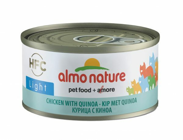 HFC Cats 70g Light - kip met quinoa