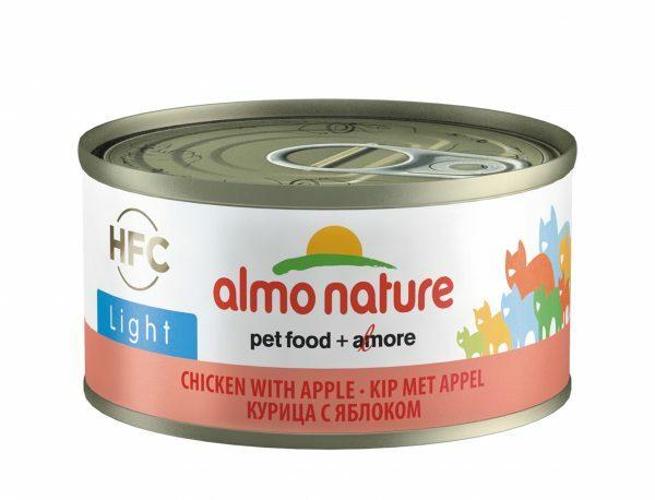 HFC Cats 70g Light - kip met appel