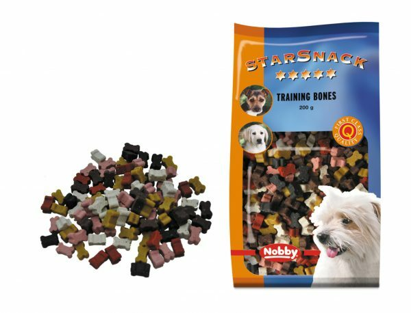Snack hond training bones 200gr