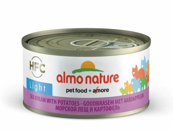 HFC Cats 70g Jelly - zeebrasem met aardappelen