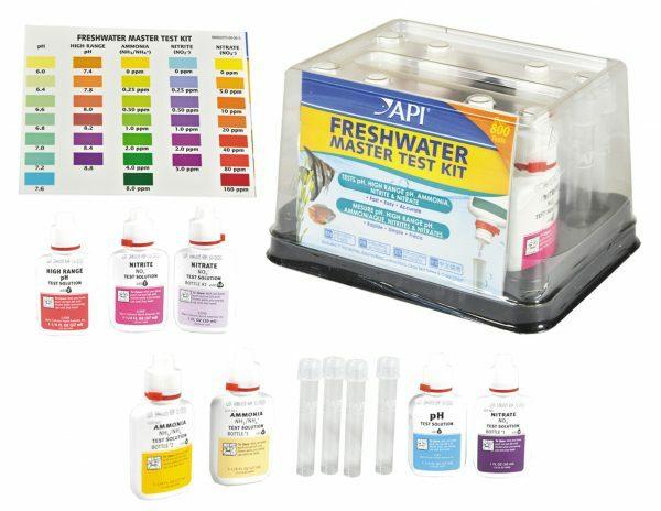 Freshwater master test kit API