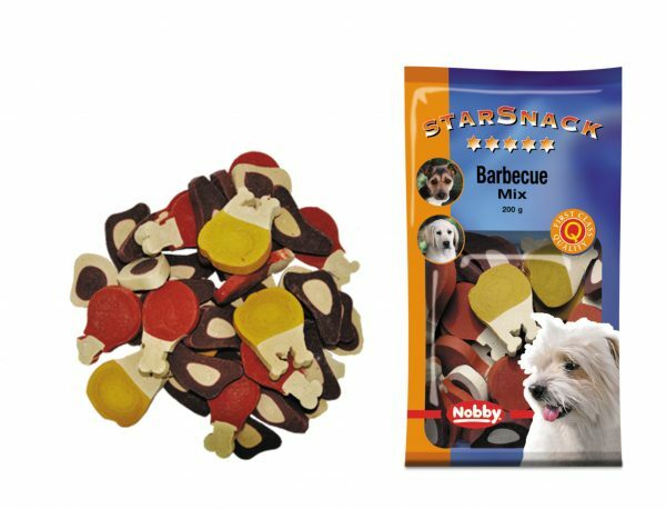 Snack hond barbecue mix 200gr