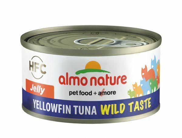 HFC Cats 70g Jelly - geelvintonijn