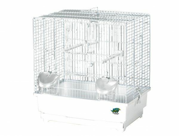 Kooi kleine vogel Alfa 3 wit 40 x27x43cm S