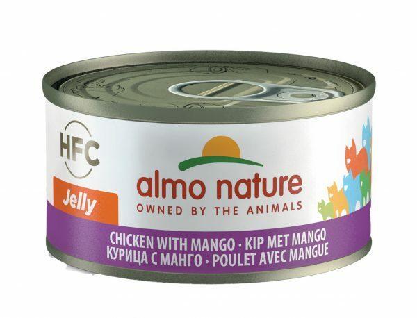 HFC Cats 70g Jelly - kip met mango