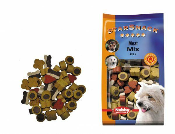 Snack hond vlees mix 200gr