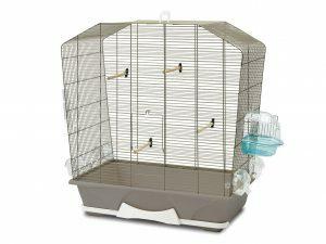 Kooi kleine vogel Camille 50 taupe 72x39x74cm