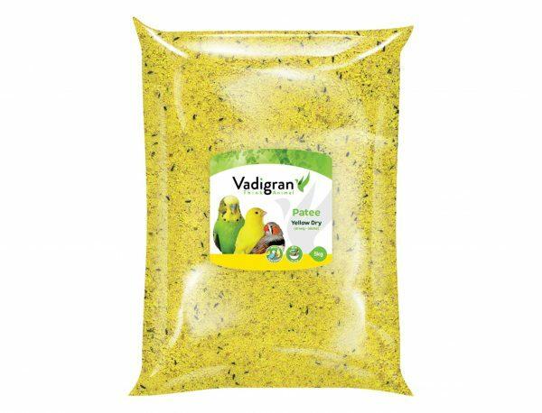 Patee droog geel 5kg