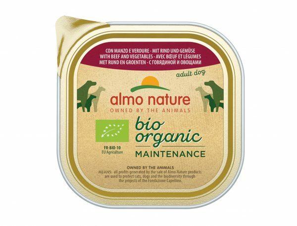 BIO Organic Dogs 300g met rund en groenten