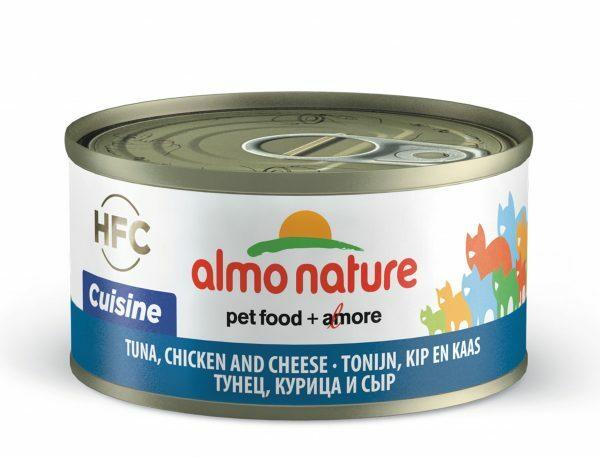 HFC Cats 70g Natural - tonijn, kip en kaas
