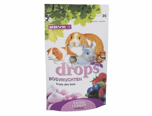 ESVE Drops bosvruchten knaagdieren