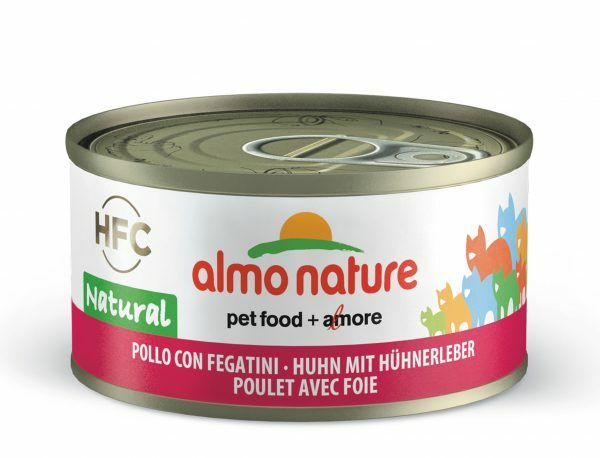 HFC Cats 70g Natural - kip met lever FR