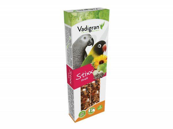 Snack StixX parkiet&papegaai fruit 115gr(2)