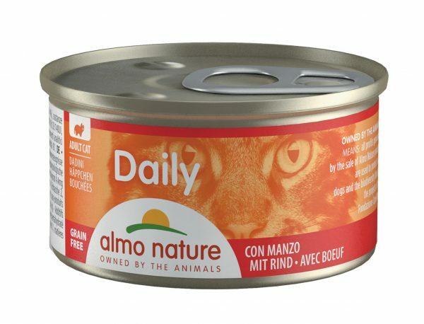 Daily Cats 85g brokjes met rund