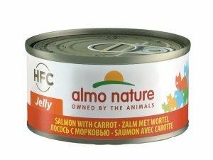 HFC Cats 70g Jelly - zalm met wortel