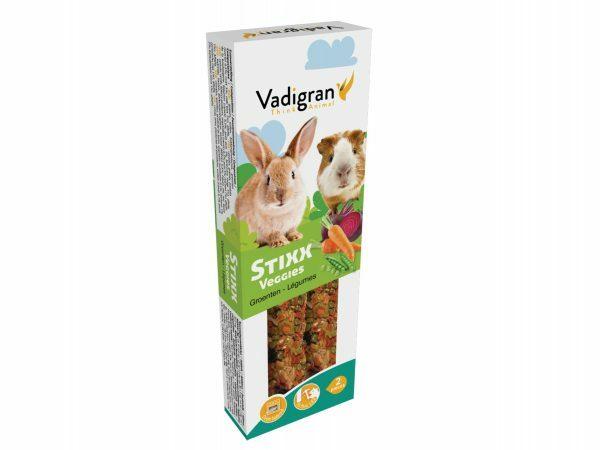 Snack StixX konijn&cavia Veggies 115g(2)