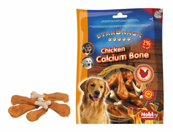 Snack hond kip calcium been 375gr