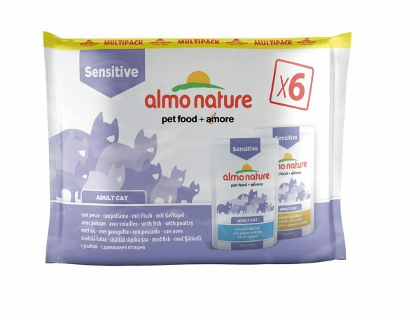 Cats MultiPack Digestive- Vis & Gevogelte (6x70g)