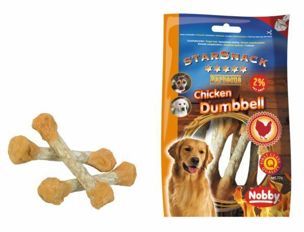Snack hond kip dumbbell 70gr