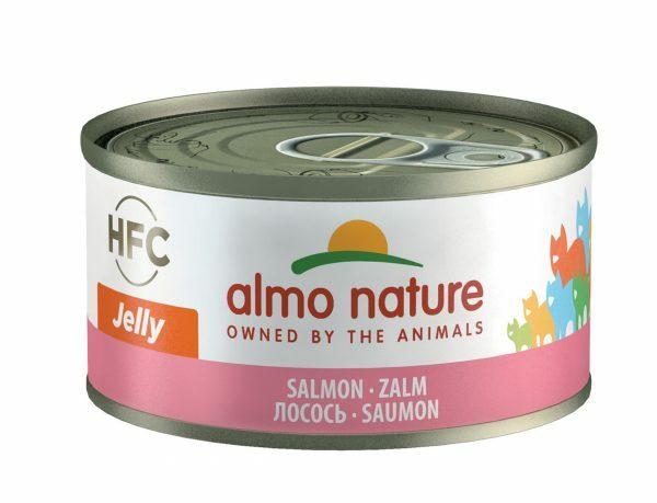 HFC Cats 70g Jelly- zalm