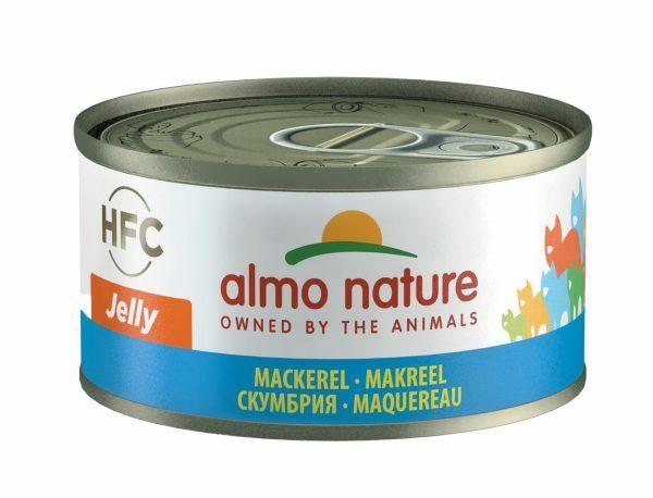HFC Cats 70g Jelly - makreel