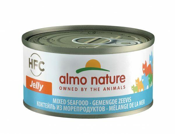 HFC Cats 70g Jelly - gemengde zeevis