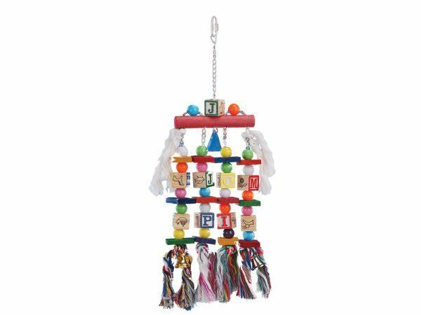 Speelgoed vogel Pleasure Cube 4voudig 50x15cm