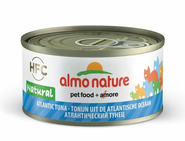 HFC Cats 70g Natural - atlantische tonijn