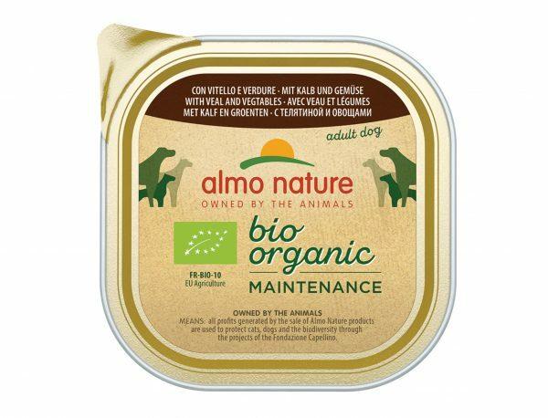 BIO Organic Dogs 300g met kalf en groenten