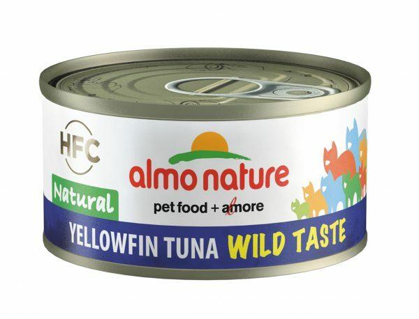 HFC Cats 70g Natural - geelvintonijn