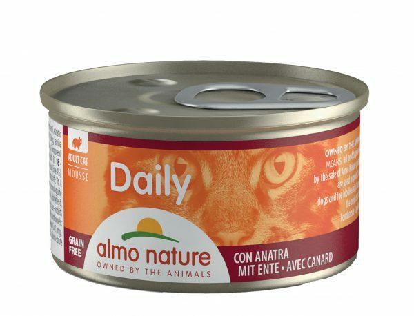 Daily Cats 85g Mousse met eend