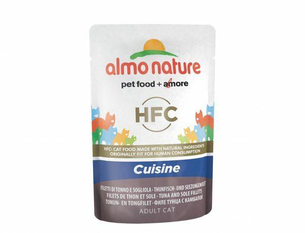 HFC Cats 55g Cuisine - tonijn- en tongfilet