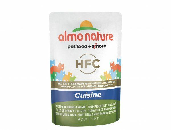 HFC Cats 55g Jelly - tonijnfilet en algen