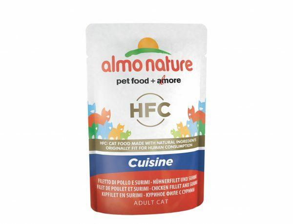 HFC Cats 55g Cuisine - kipfilet en surimi