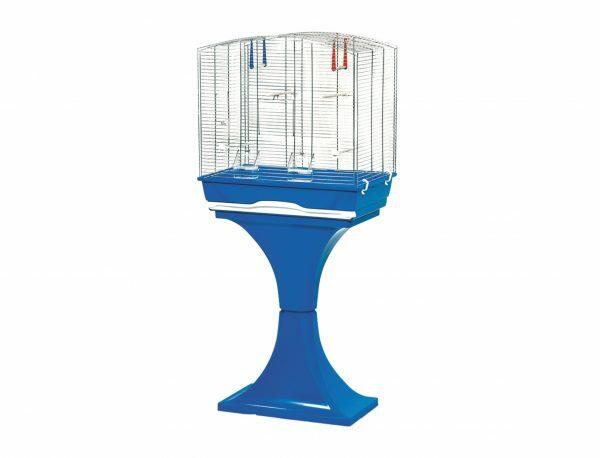 Kooi Mara met voet blauw 56,5x36,5x127cm