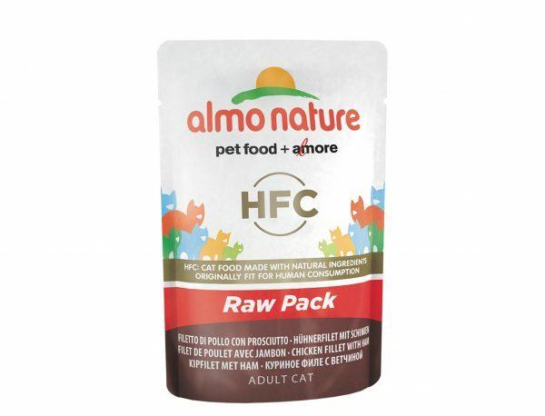 HFC Cats 55g HFC Natural - kipfilet met ham