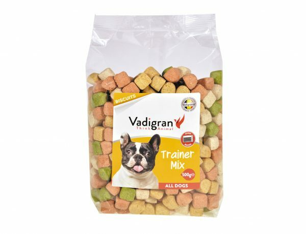 Snack hond Biscuits Trainer Mix 500g