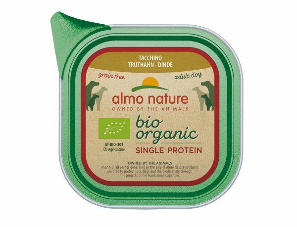 BIO Organic Dogs 150g Single Protein - Kalkoen