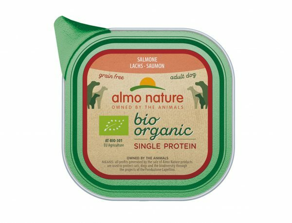 BIO Organic Dogs 150g Single Protein - Zalm