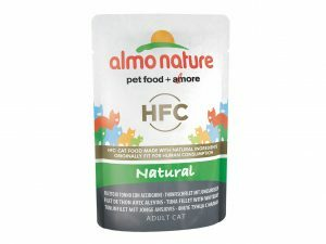 HFC Cats 55g Natural - tonijn en jonge ansjovis