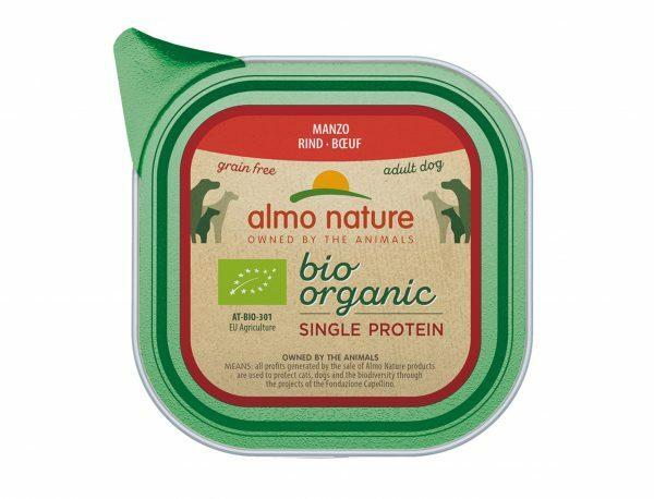 BIO Organic Dogs 150g Single Protein - Rund
